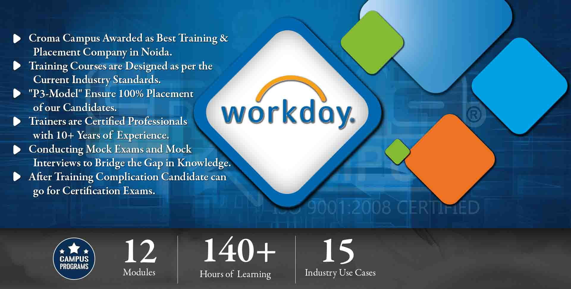 WorkDay Integration Training in Gurgaon- Croma Campus