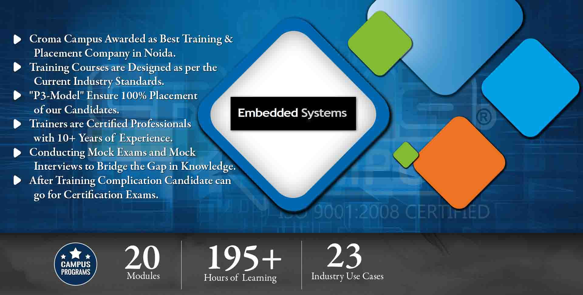 Embedded Systems Training in Noida- Croma Campus