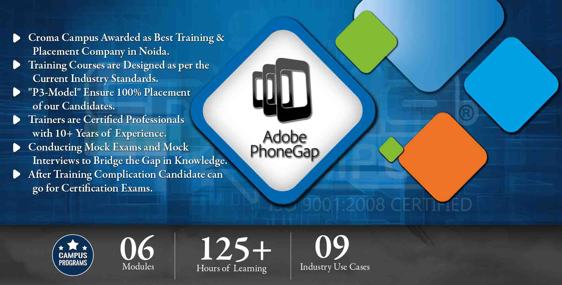PhoneGap Training in Noida- Croma Campus