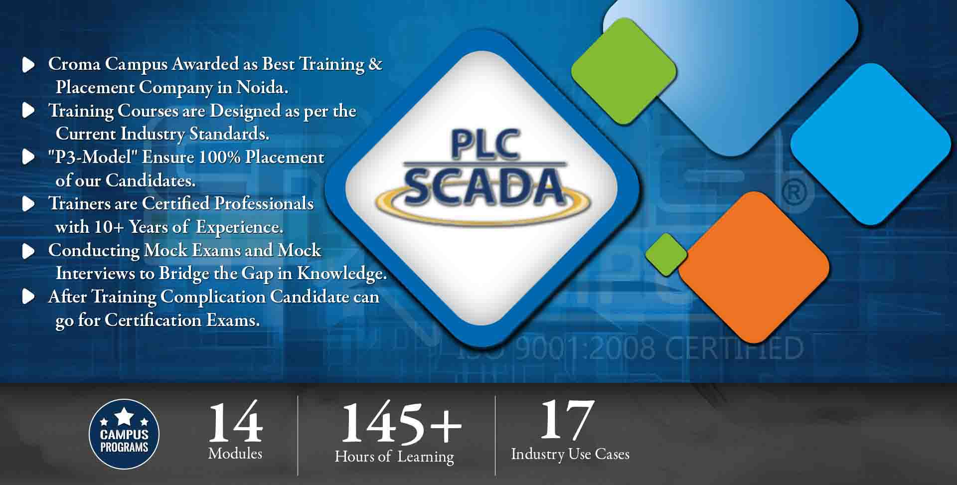 PLC Scada Training in Noida- Croma Campus