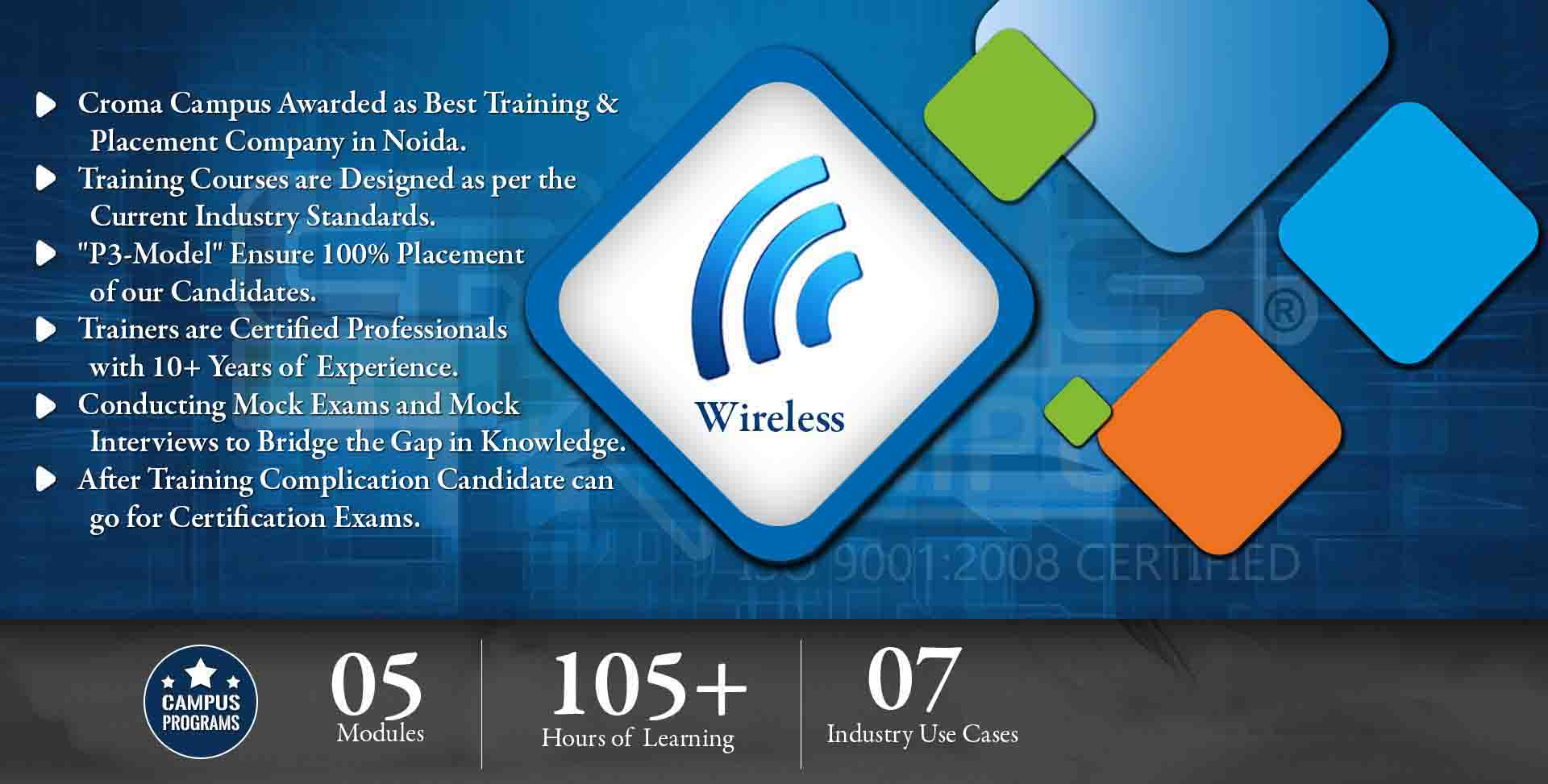 Wireless & Telecom Training in Delhi NCR- Croma Campus