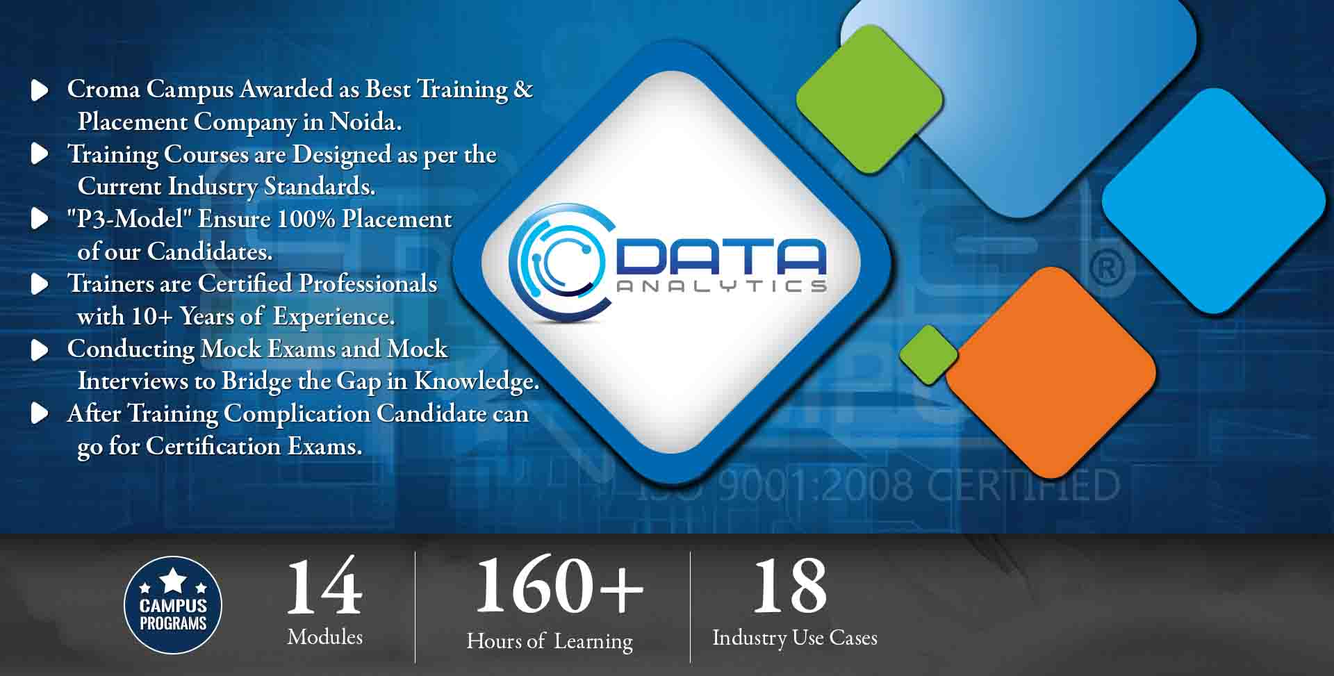 Data Analytics Training in Noida- Croma Campus