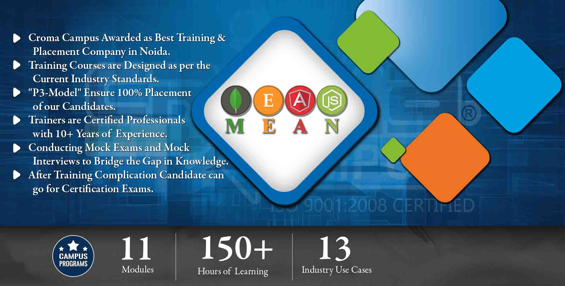 MEAN Stack Training in Noida- Croma Campus
