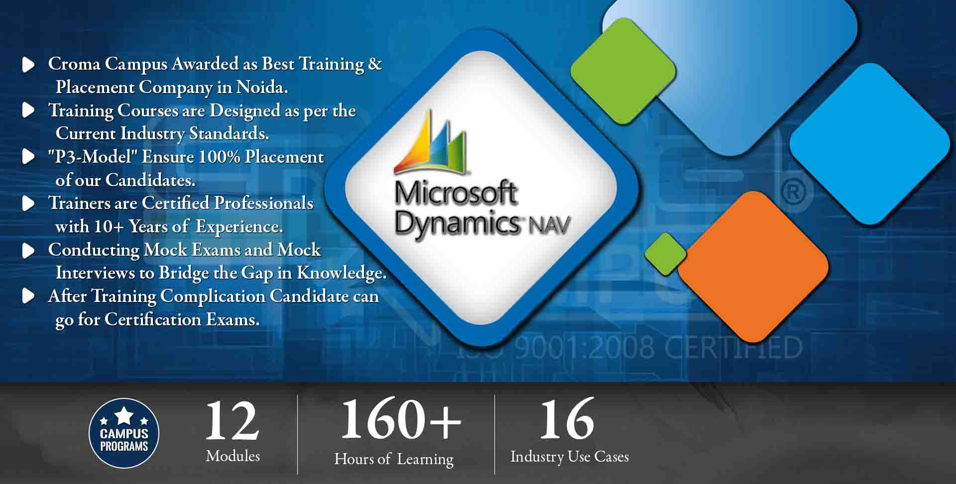 Microsoft Dynamics NAV Training in Gurgaon- Croma Campus