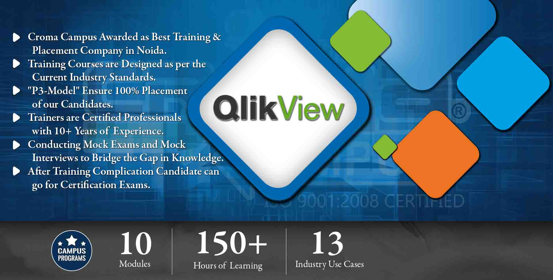 Qlikview Training in Gurgaon- Croma Campus