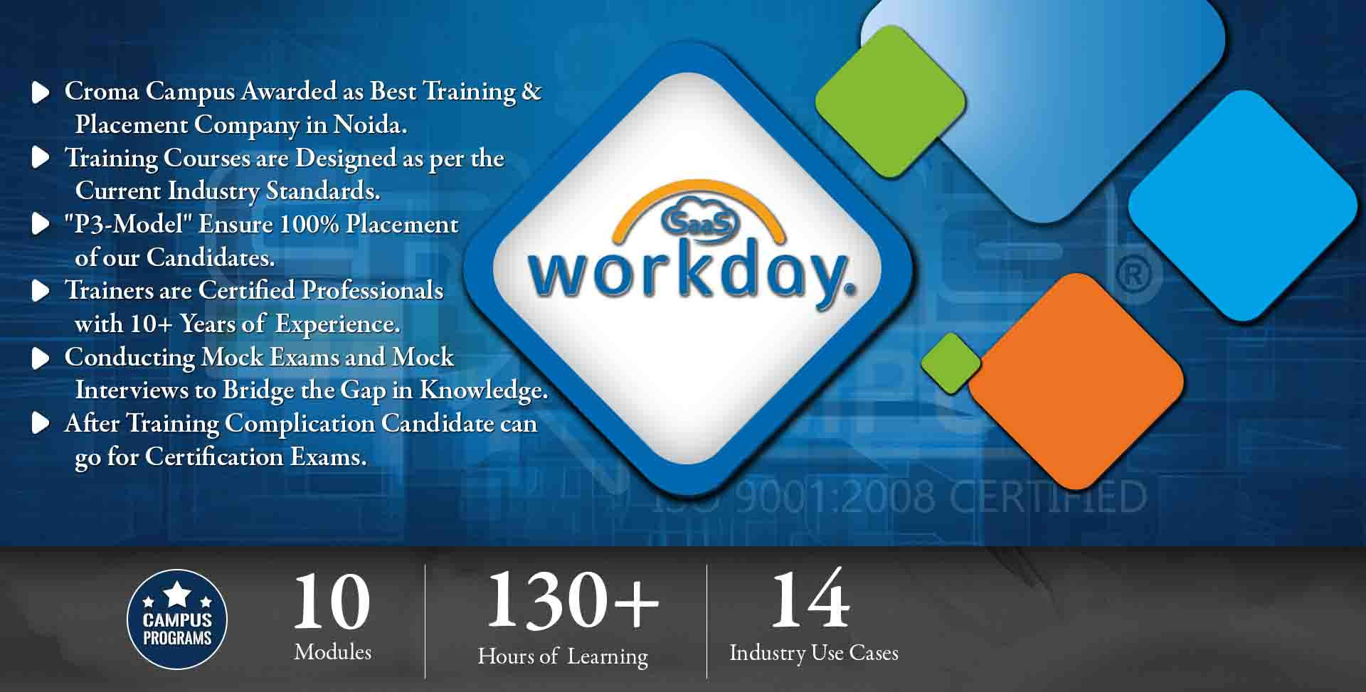 Workday SaaS Training in Delhi NCR- Croma Campus