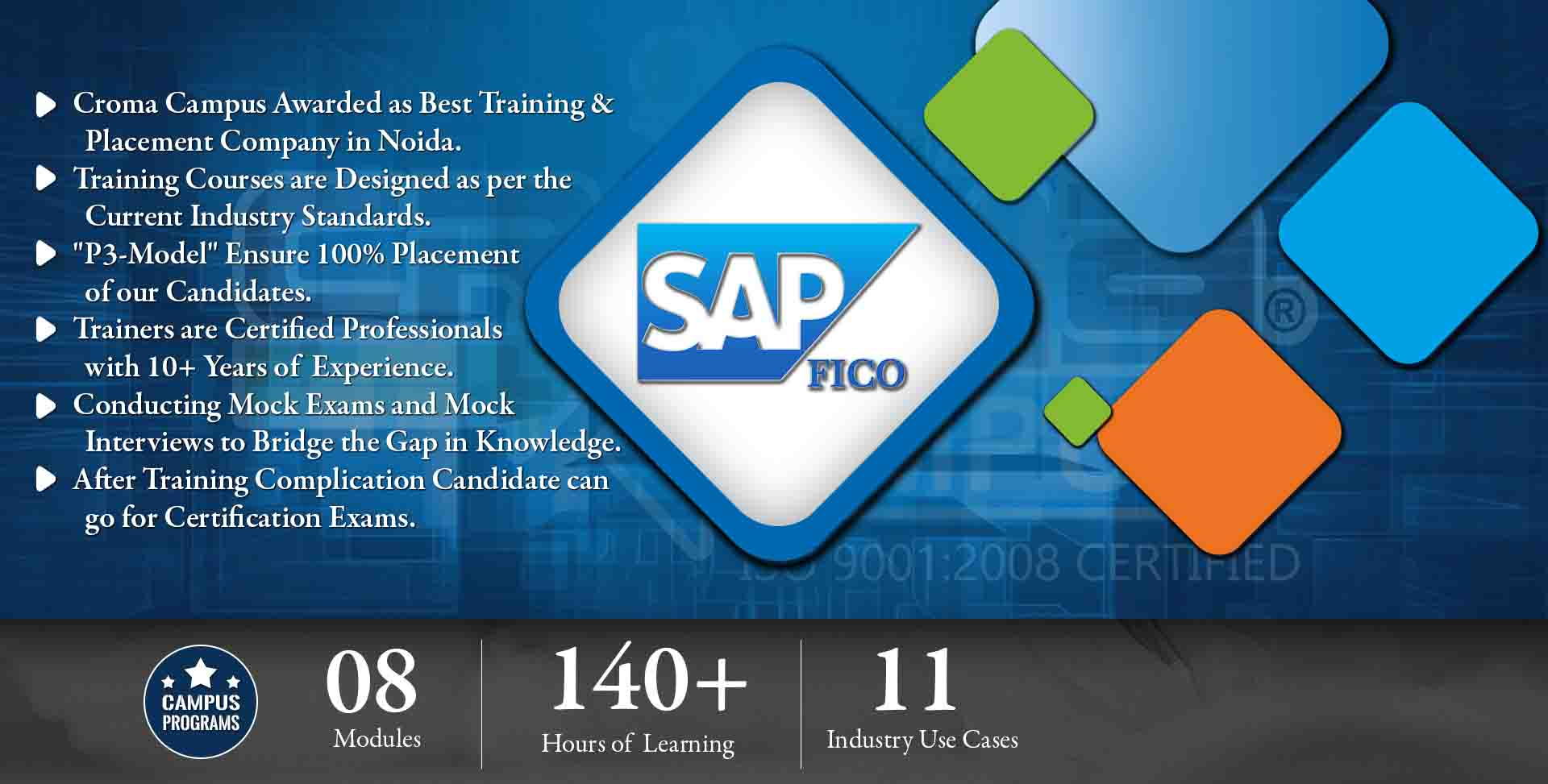 SAP FICO TRAINING INSTITUTE IN DELHI | CROMA CAMPUS