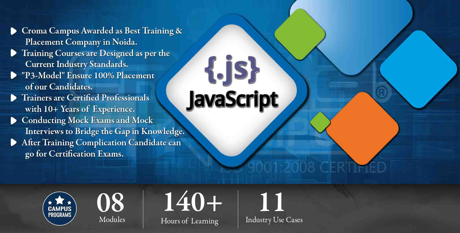 JavaScript Training in Delhi - Croma Campus