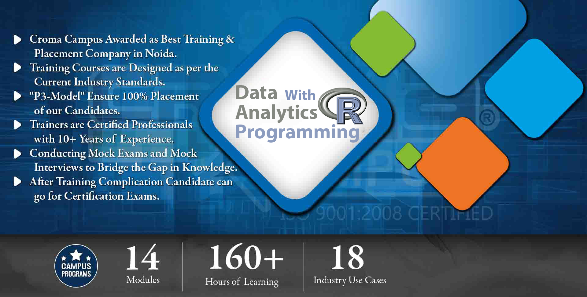 Data Analytics with R Programming Training Institute in