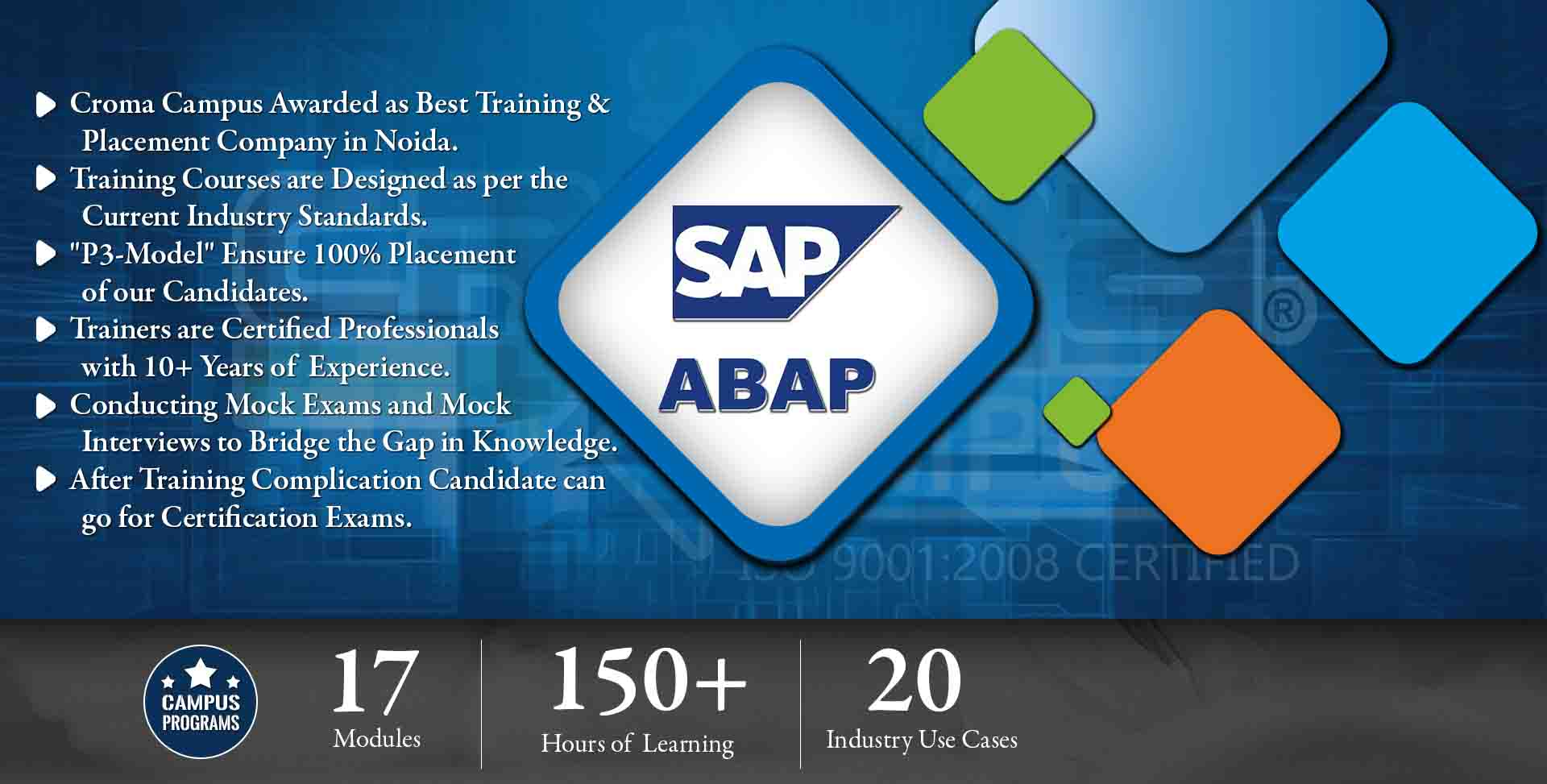 SAP ABAP Training in Noida- Croma Campus