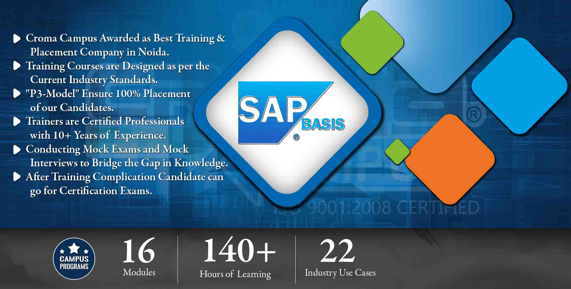 SAP Basis Training in Noida- Croma Campus