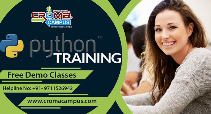 Python Online Course Certification | Croma Campus