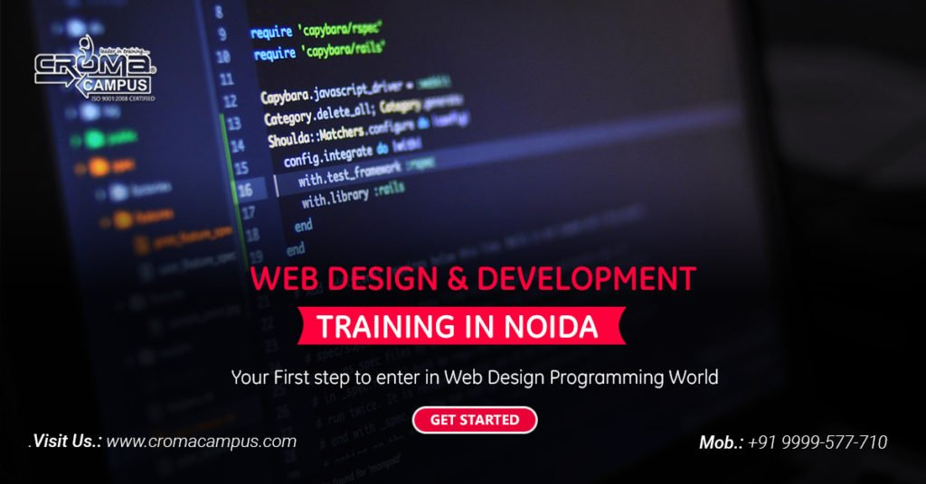 Learn To Work with Sites & Application with Web Development Training