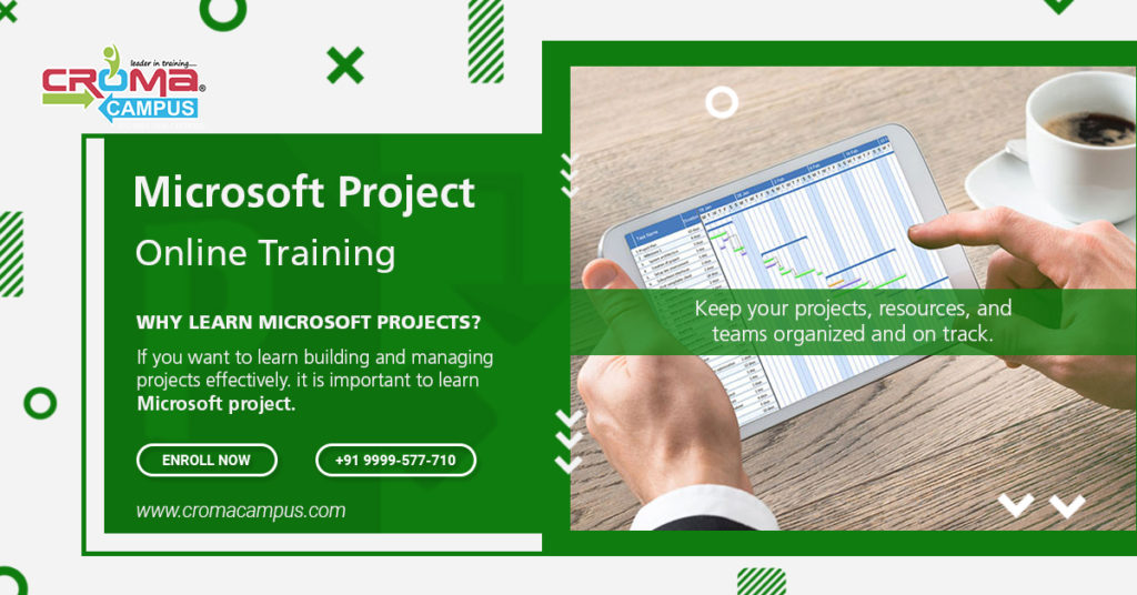 Learn To Control the Organization Project with Microsoft Project Software
